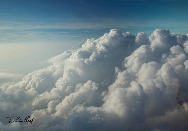 Photograph - Cloud Tops 10 by William Reek