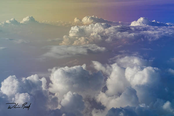 Photograph - Cloud Tops 2 by William Reek