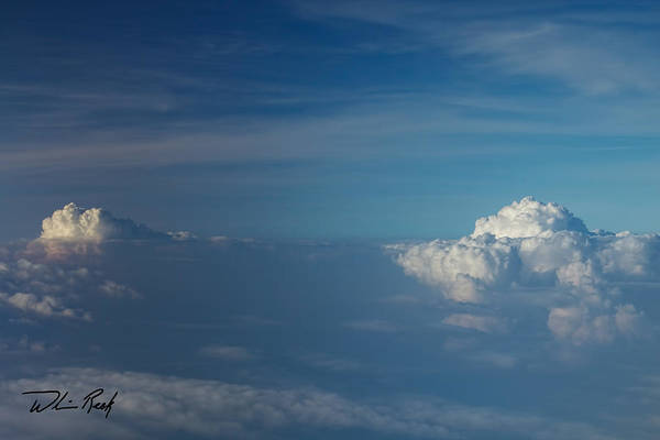 Photograph - Cloud Tops 3 by William Reek
