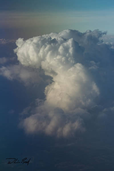 Photograph - Cloud Tops 5 by William Reek