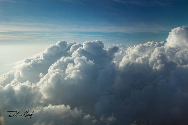 Photograph - Cloud Tops 9 by William Reek