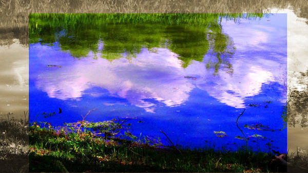 Photograph - Cloud Water Reflection Landscape by Patrick Malon