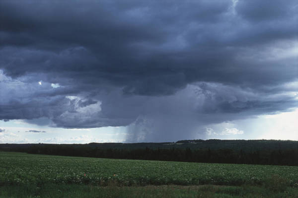 Aroostook County Photograph - Cloudburst by Paul J. Fusco