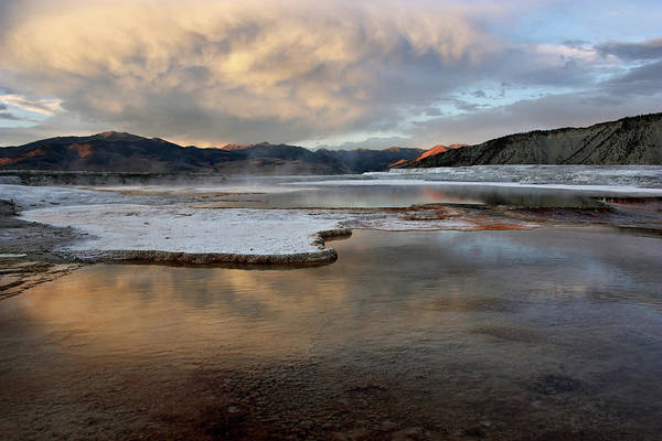 Photograph - Clouded Hot Springs by Theo OConnor