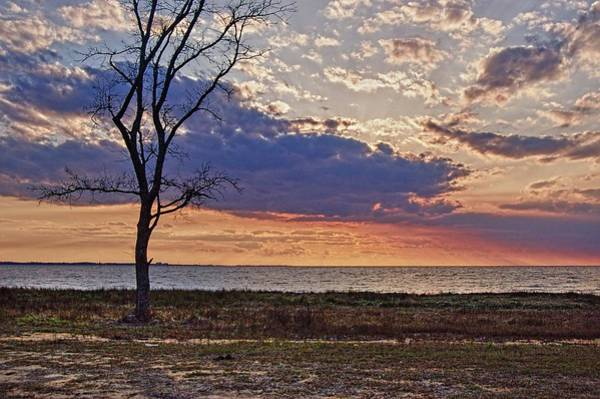 Wall Art - Digital Art - Clouding Up On Oyster Bay by Michael Thomas
