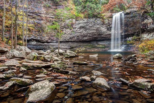 Cloudland Canyon Photograph - Cloudland Canyon Falls by Scott Moore