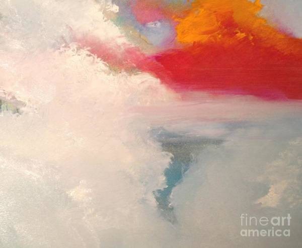 Wall Art - Painting - Clouds 9 by Jane Ubell-Meyer