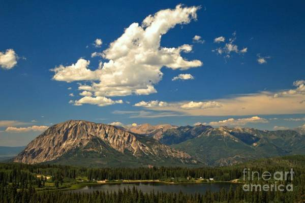 Photograph - Clouds Above Lost Lake by Adam Jewell