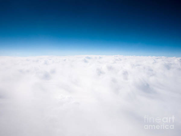 Wall Art - Photograph - Clouds Aerial From Above Background by Paul Velgos