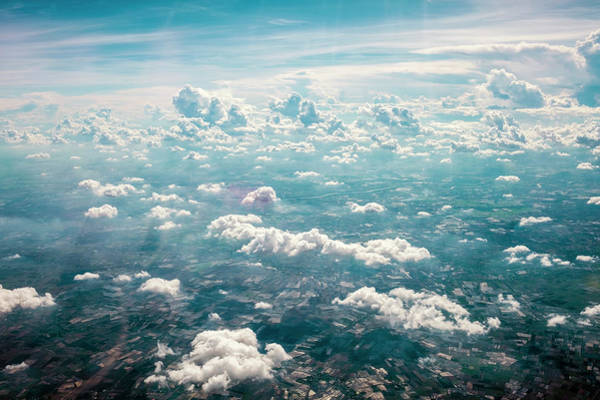 Jason Day Photograph - Clouds And Blue Sky by Jason Langley