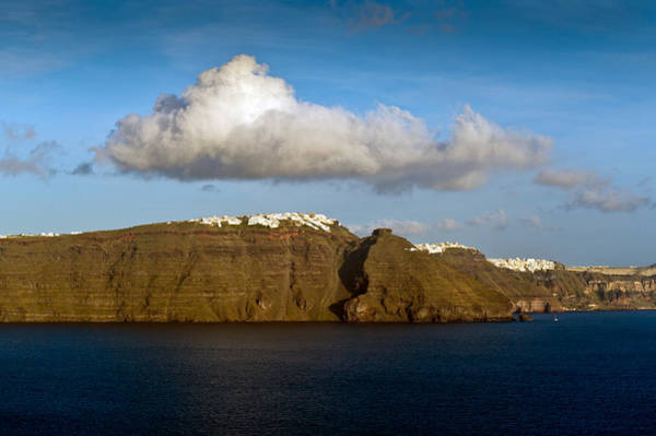 Photograph - Clouds And Cliffs by Gary Eason