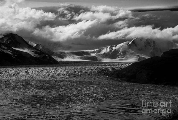 Photograph - Clouds And Ice by James Brunker