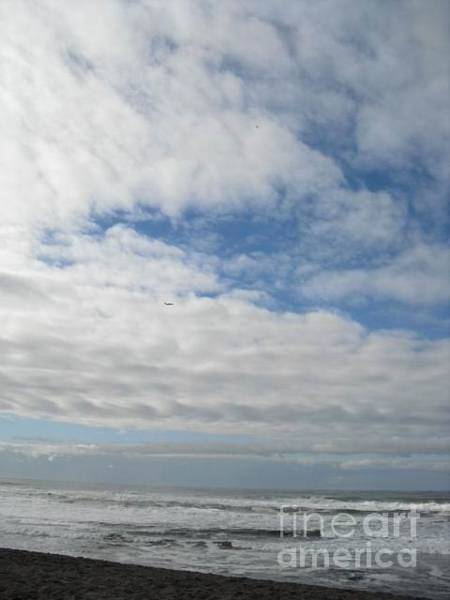Photograph - Clouds And Waves by Cynthia Marcopulos