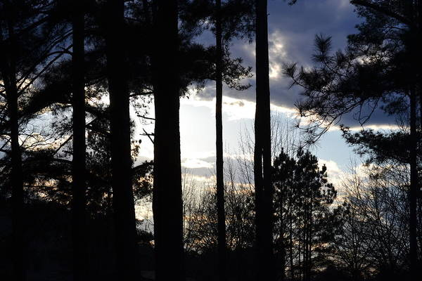 Rockdale County Photograph - Clouds At Dusk IIi by Tara Potts