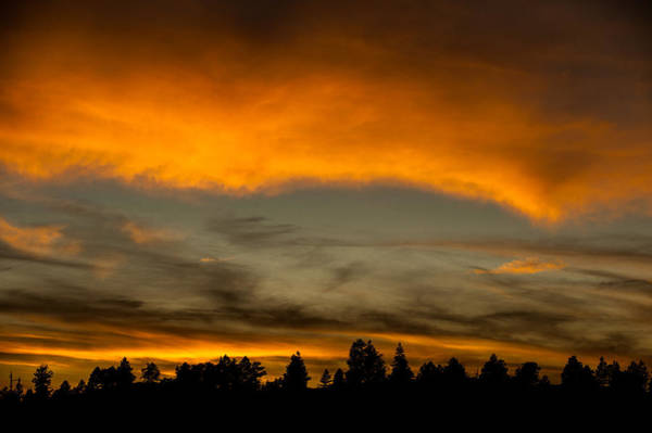 George Canyon Photograph - Clouds At Sunset by George Buxbaum