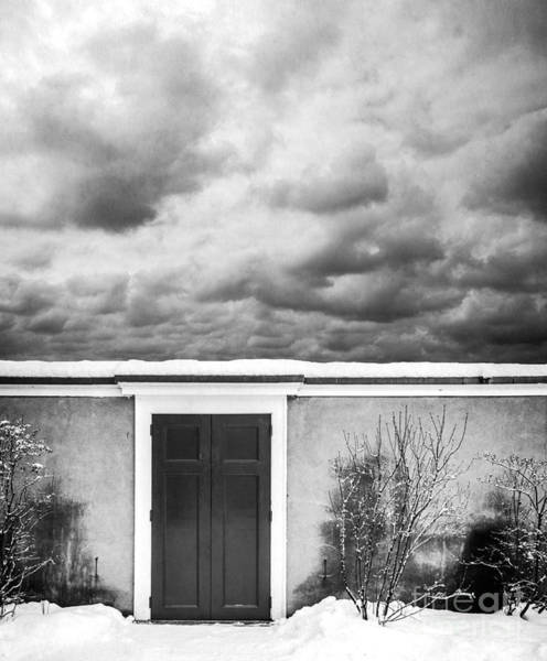 Photograph - Clouds Beyond The Wall by Edward Fielding