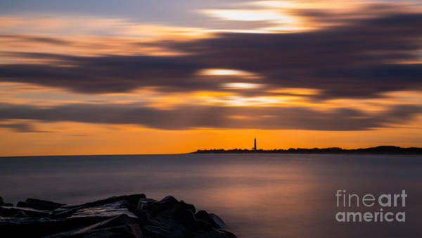 Cape May Lighthouse Photograph - Clouds In Motion At Cape May  by Michael Ver Sprill
