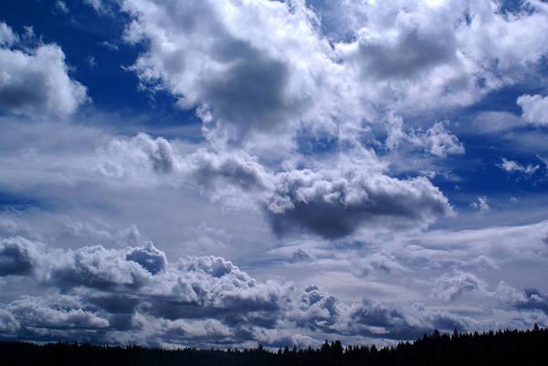 Photograph - Clouds In Spokane by Ben Upham III