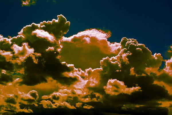 Photograph - Clouds Of Amber In Spokane 2014 by Ben Upham III