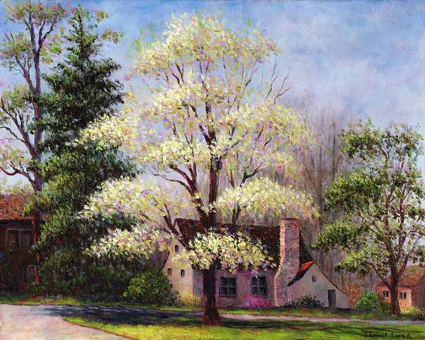 Painting - Clouds Of Spring by Susan Savad
