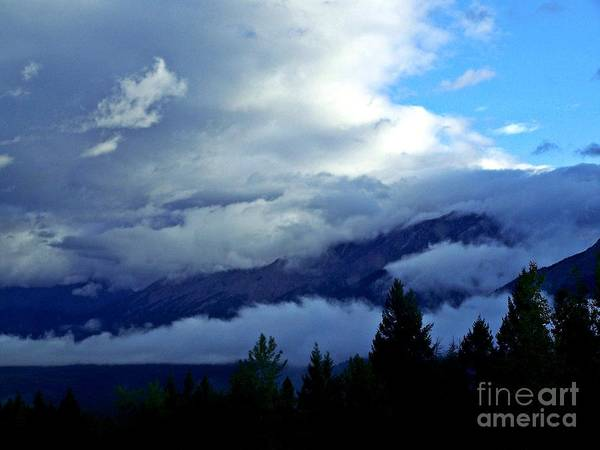 Wall Art - Photograph - Clouds On Top Of The World by Christian Mattison