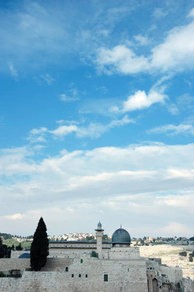 Jerusalem Photograph - Clouds Over Al-aqsa Mosque by Zepperwing
