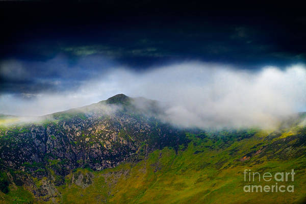 Wall Art - Photograph - Clouds Over Bull Crag And Maiden Moor by Louise Heusinkveld