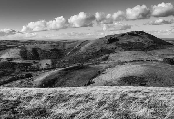 Church Stretton Wall Art - Photograph - Clouds Over Caer Caradoc by John Hayward