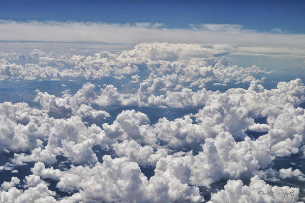 Photograph - Clouds Over California by Paulette B Wright
