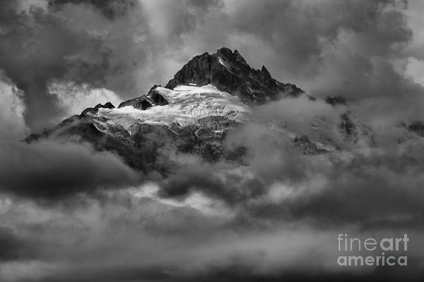 Photograph - Clouds Over Canadian Glaciers by Adam Jewell