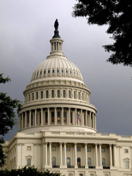 Photograph - Clouds Over Congress by James Granberry
