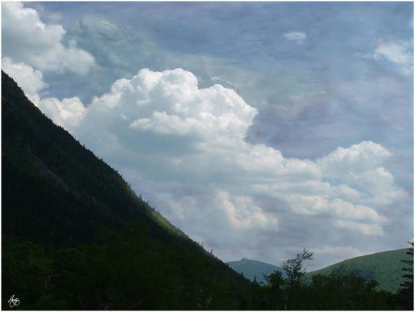 Photograph - Clouds Over Crawford by Wayne King