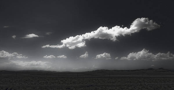 Photograph - Clouds Over Fallon Nevada by Gregory Dyer