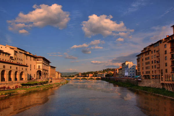 Photograph - Clouds Over Florence Waterway by Bob Coates
