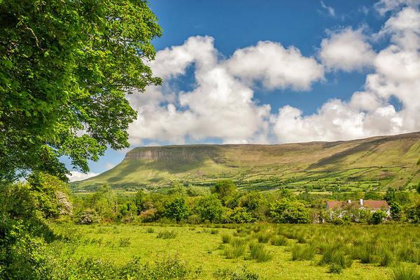 Wall Art - Photograph - Clouds Over Green Pastures, Sligo by James Steinberg