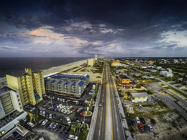 Digital Art - Clouds Over Gulf Shores by Michael Thomas