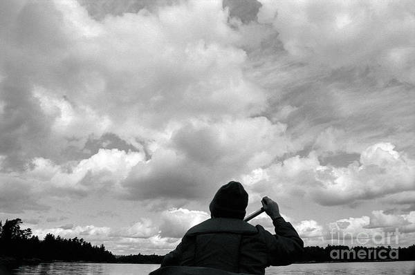 Bwcaw Photograph - Clouds Over Horse River by Mark Avery