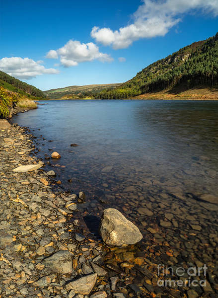 Coed Photograph - Clouds Over Lake  by Adrian Evans