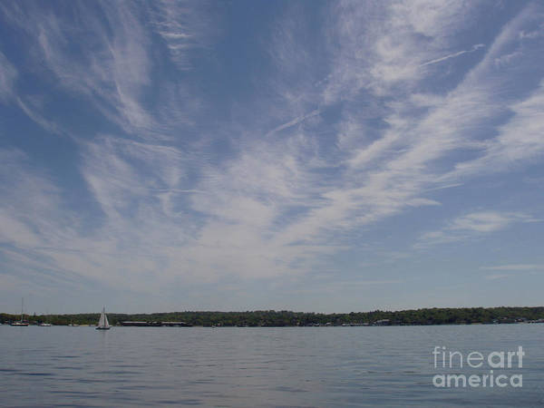 Wall Art - Photograph - Clouds Over Long Island Sound by John Telfer