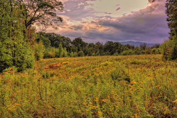 Photograph - Clouds Over Monadnock by Tom Singleton