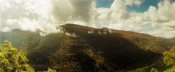Catskill Photograph - Clouds Over Mountain, Kaaterskill by Panoramic Images