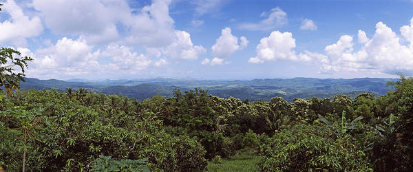 Flores Photograph - Clouds Over Mountains, Flores Island by Panoramic Images
