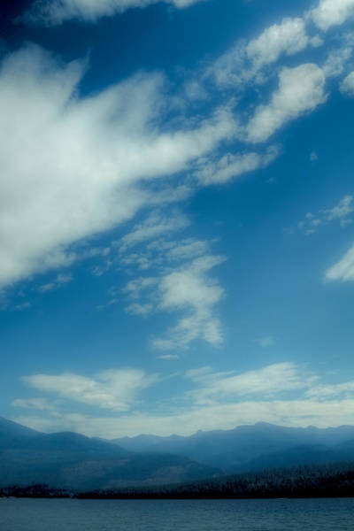 Wall Art - Photograph - Clouds Over Priest Lake by David Patterson