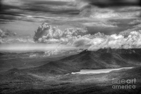 Photograph - Clouds Over Table Rock by David Waldrop