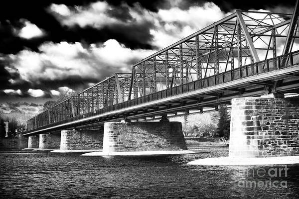 Photograph - Clouds Over The Bridge by John Rizzuto