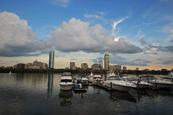 Photograph - Clouds Over The Charles River by Toby McGuire