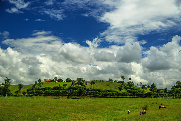 Puerto Plata Photograph - Clouds Over The Hill House - Beautiful Landscapes Of Dominican Republic by Dmitry Sergeev