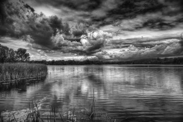 Wall Art - Photograph - Clouds Over The Mill Pond  by Thomas Young