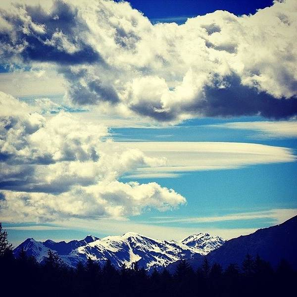 Wall Art - Photograph - Clouds Over The Mountains by Luisa Azzolini