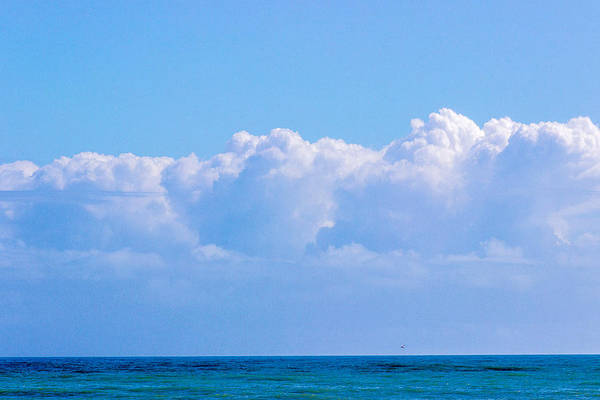 Photograph - Clouds Over The Ocean by Pete Hendley